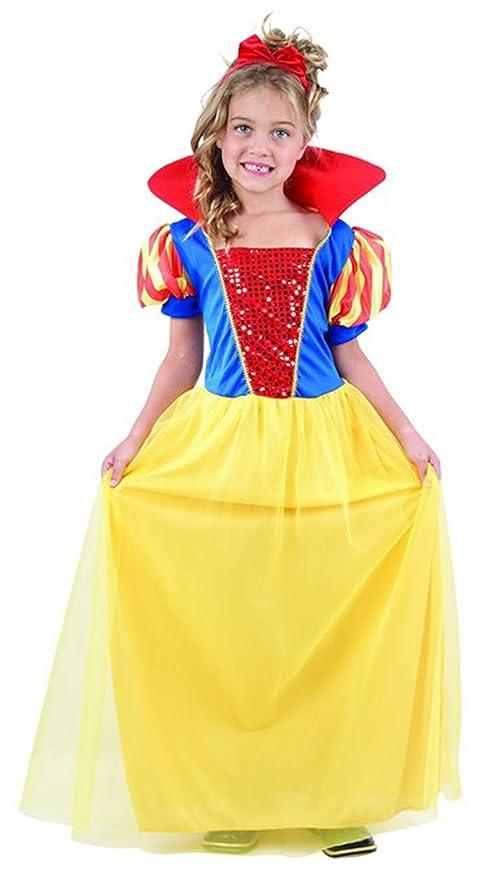 EL CARNAVAL Disfraz Blancanieves Talla de 6 a 8 años: Amazon.es: Hogar