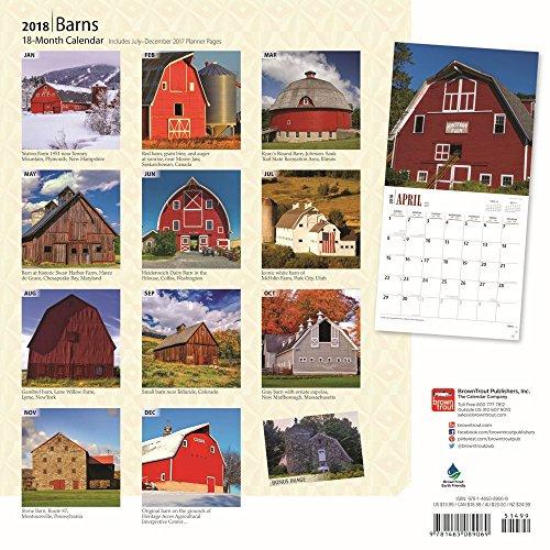 Barns 2018 Wall Calendar Photo #3