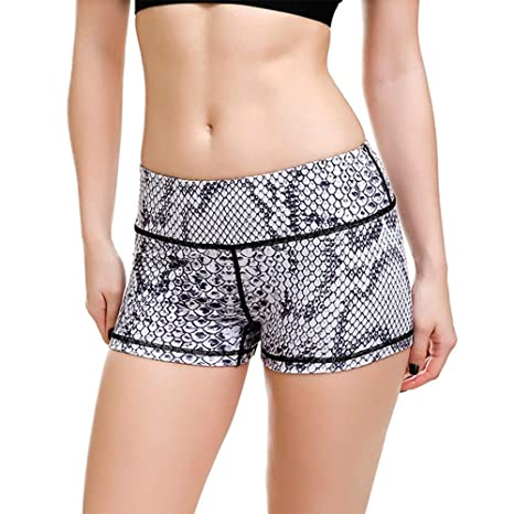 Mujer Mallas Shorts de Yoga, Moda para mujer Impresiones de ...