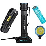 Olight S30R Baton III Cree XM-L2 LED 1050 Lumens 18650 Rechargeable Variable-Output LED Flashlight Side-Switch with SKYBEN Holster