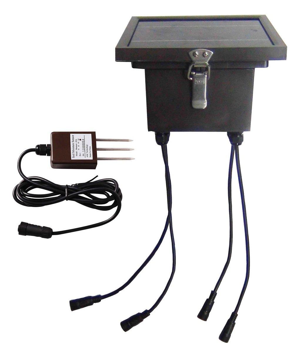 Ancnoble Wireless Multi Moisture Sensors Controller 4MS-Solar