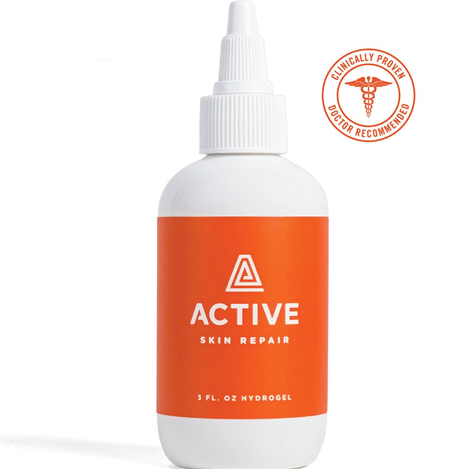 ACTIVE Skin Repair Hydrogel – Natural Antibacterial Healing Ointment & Wound Gel for cuts, scrapes, rashes, sunburns and other skin irritations (3oz)