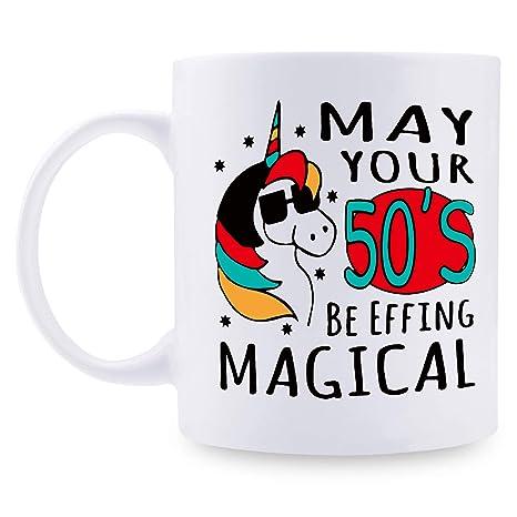 Amazon.com: 1969 50 cumpleaños regalo para las mujeres taza ...