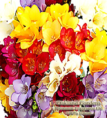 Freesia Fragrance Oil - 100% Pure Premium Grade Oil - UNCUT - This is a clean, fresh floral of freesia flowers. Not too