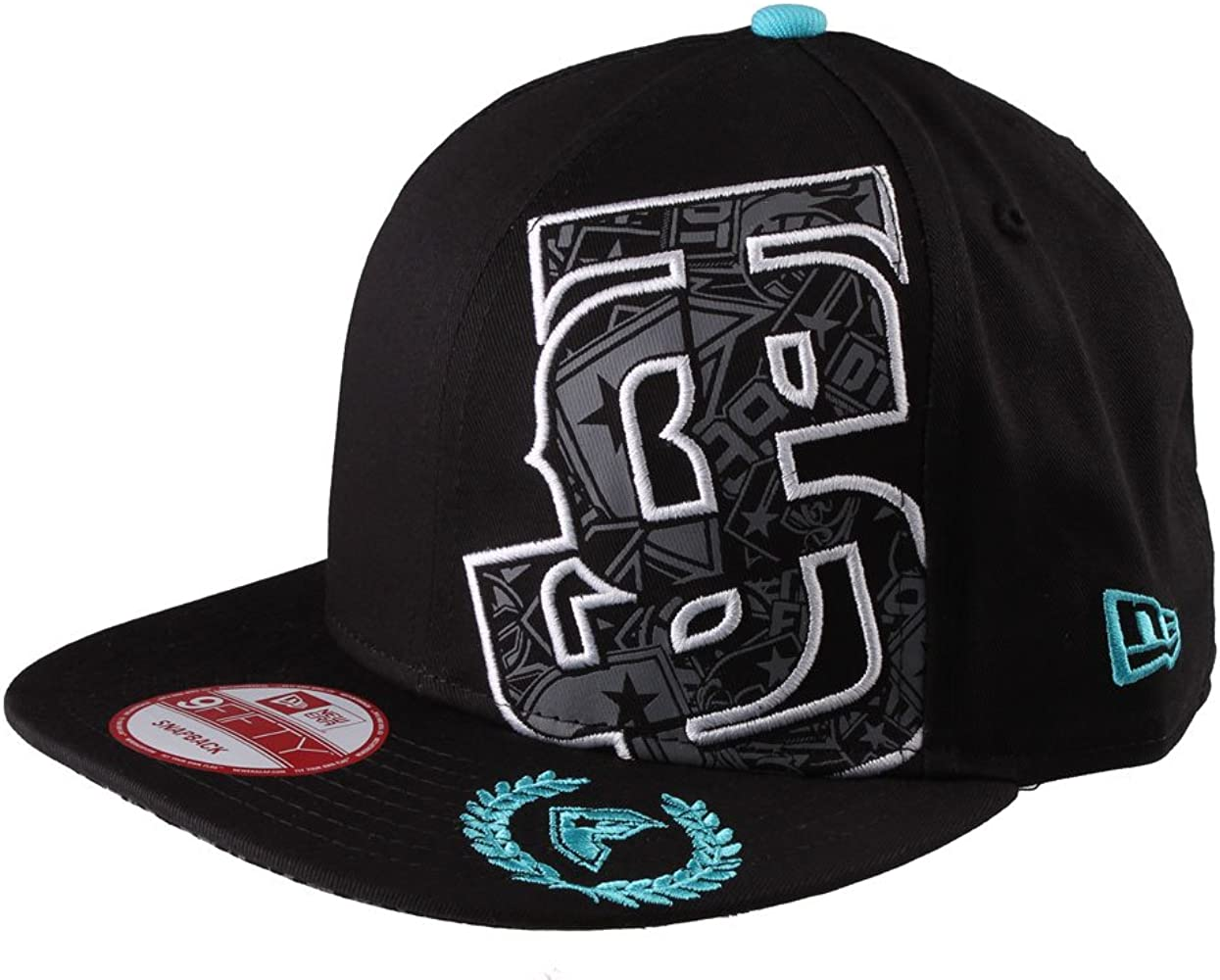 Famous Stars and Straps Gorra Old Snapback Color Negro Talla /única