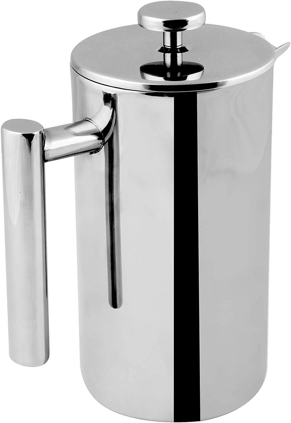 Utopia Kitchen French Press Coffee Maker – French Coffee Press – Bulk Pack of 12 – Double Walled 32 oz Espresso Tea Maker – 100 Stainless Steel – Dishwasher Safe