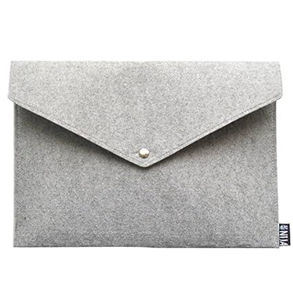 b6da01713975 Amazon.com: Felt Cover Laptop Sleeves Protective Case File Folder ...