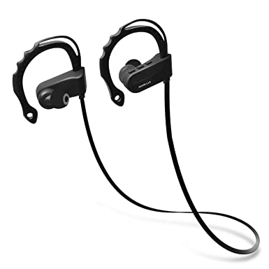 Auriculares inalámbricos, amicool Bluetooth Deportes Auriculares w/micrófono, IPX7 resistente al agua,
