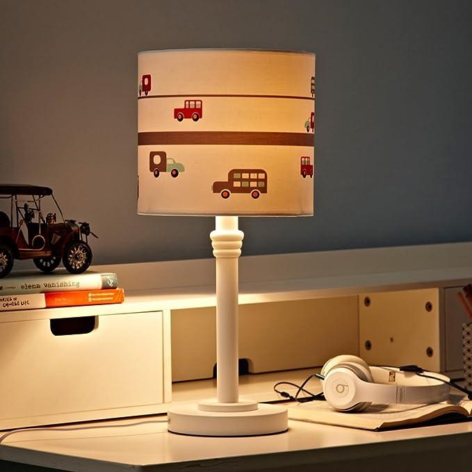 Amazon.com: Sitio de niños Lámparas de mesa HALORI Los niños ...