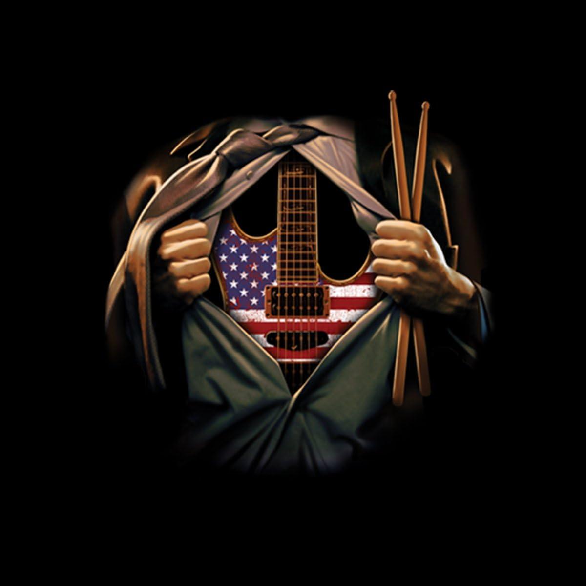 Music Soul Guitar Drumsticks Women T-shirt S-3XL New