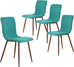 Lovely Coavas Set Of 4 Eames Dining Chairs