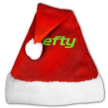 amazon com lkzd lefty left handed cool christmas hat for childrens