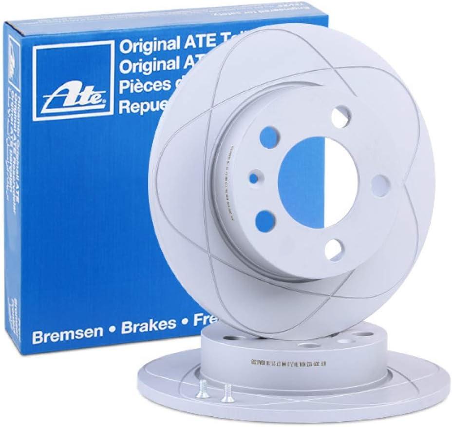 2 Stck ATE-Bremsscheiben
