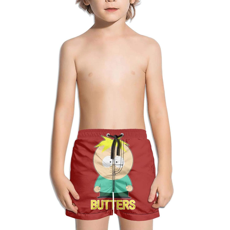 Kids Volley Stretch Board Sporty Swim Side Split Shorts