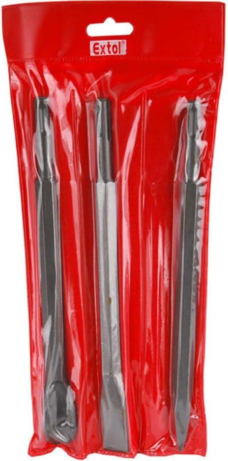 Extol craft 23950/Set di scalpelli SDS Plus 3/pezzi