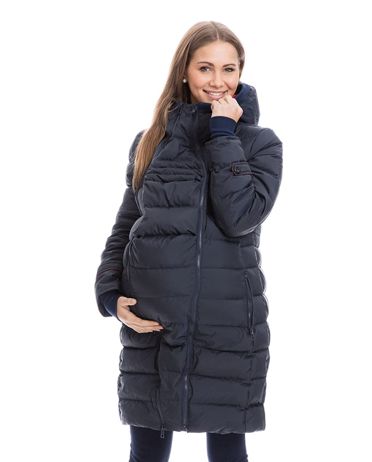 GoFuture Women Bump-and-Baby Down Jacket 4in1 Winter GF2265