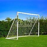 "FORZA ""Pro"" 8' x 6' Soccer Goal, Target Trainer & Net"