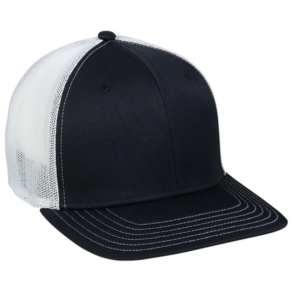 OutDoorCap HAT メンズ B072BN5MM7 Medium / Large|ブラック/ホワイト ブラック/ホワイト Medium / Large