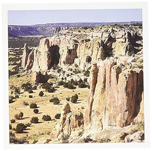 3dRose New Mexico, Acoma Pueblo Sky City, mesa top - US32 JWI0017 - Jamie and Judy Wild - Greeting Cards, 6 x 6 inches, set of 6 (gc_92761_1)