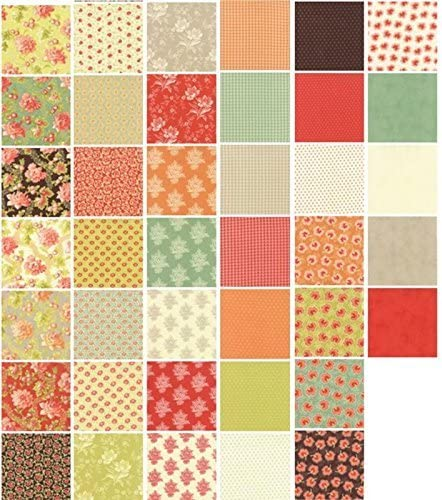 Moda Somerset Mini Charm Pack by Fig Tree Quilts by moda: Amazon.es: Hogar