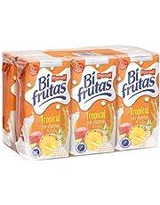 Bifrutas Zumo de Frutas Tropical - Pack de 6 x 20 cl - Total: 1,2 l