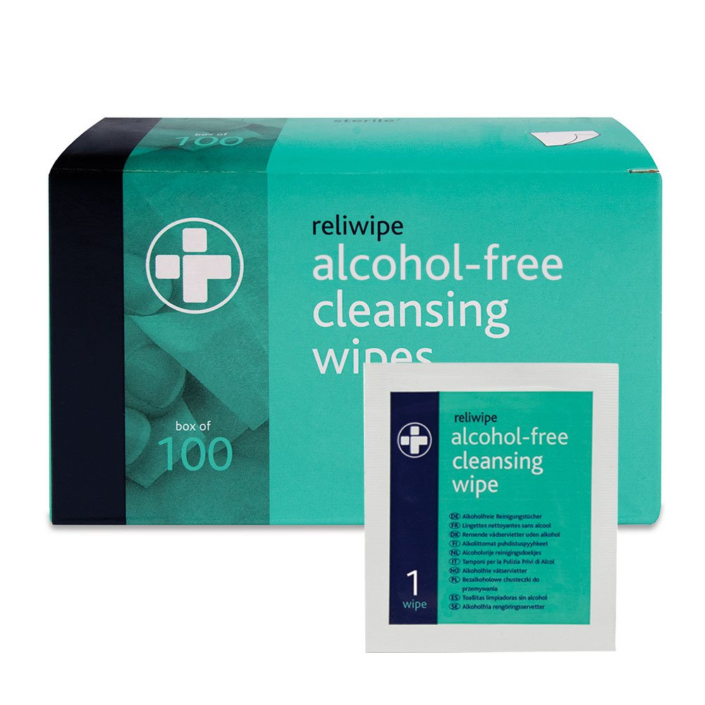 Amazon.com: Reliance Medical Alcohol-Free Cleansing Wipes by Reliance Medical: Health & Personal Care