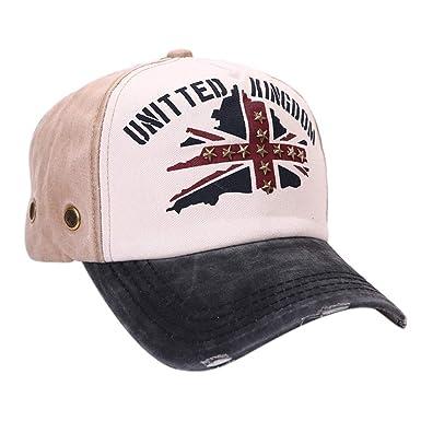 URIBAKY Gorras de béisbol Casuales Unisex, Gorra de Verano Bordada Sombreros para Hombres Mujeres Sombreros Casuales Hip Hop: Amazon.es: Ropa y accesorios