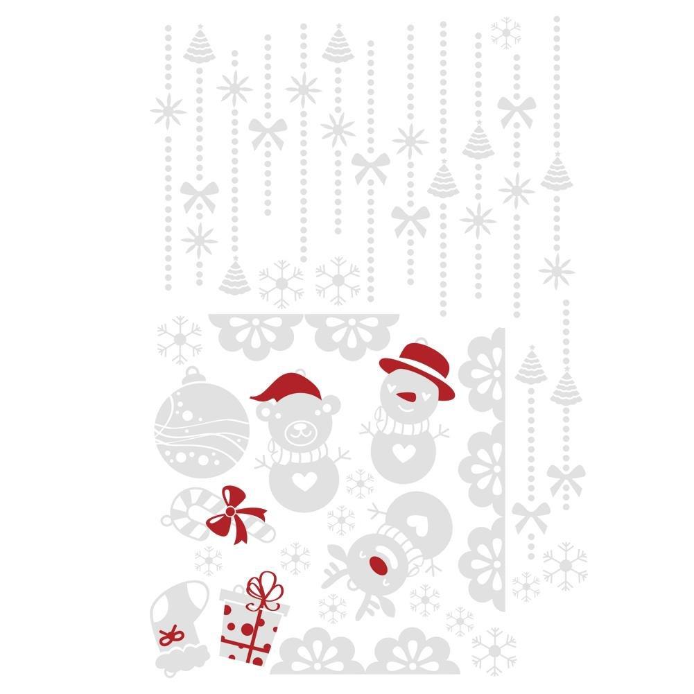 クリスマスWindowsステッカー、awakingdemiトナカイスノーフレーク家壁ウィンドウステッカードアウォールデカールステッカークリスマスパーティーホームデコレーション 1wa7cr4jz1ax7gb7-US03 1wa7cr4jz1ax7gb7-US03 G G B0772PJTYD, NCC部品センター:9339e996 --- harrow-unison.org.uk