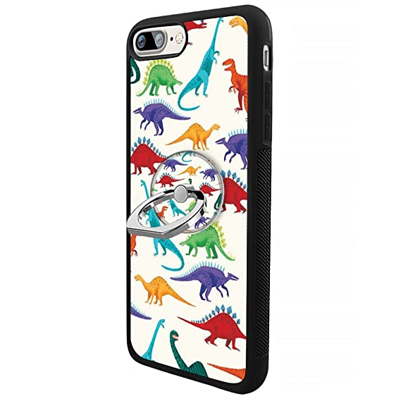 pretty nice 309e6 2aae5 Amazon.com: Dinosaur iPhone 7 Plus 8 Plus Case with Ring Holder ...