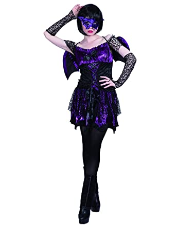 Eraspooky Damen Hexe Vampir Kostum Fur Party Halloween Fasching