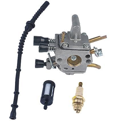 Amazon.com: HIPA Carburador + línea de combustible/filtro ...