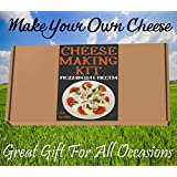 Cheese Making KIT Authentic Italian Mozzarella & Ricotta=Great Gift=Make Your Own Cheese