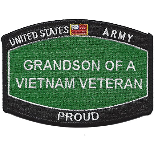 Army Grandson Of A Vietnam Veteran Patch