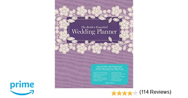 The Brides Essential Wedding Planner Deluxe Edition Amy Nebens