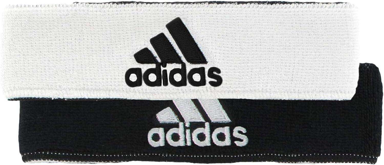 adidas Unisex Interval Reversible Headband, White/Black Black/White, ONE SIZE: Clothing