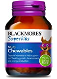 Blackmores Super Kids Multi Chewables Tab, 60ct
