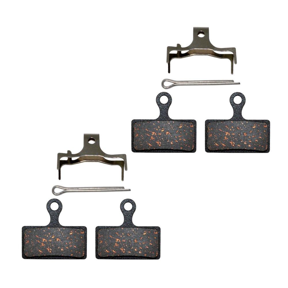 AHL Semi-Metallic Disc Brake Pads for Shimano XTR M985 M988 Deore XT M785 SLX M666 M675 Deore M615 Alfine S700
