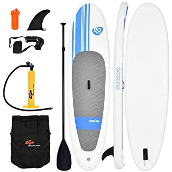 Goplus Inflatable Stand Up Paddle Board SUP