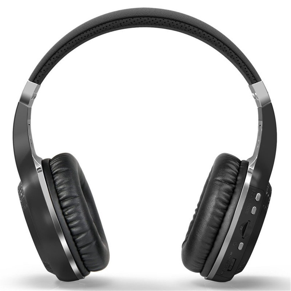 Super Bass Stereo,YiMiky Wireless Bluetooth 4.1 Operating System Headphone Headset With Microphone FM Radio TF Card Slot for Smartphones Computer Tablet