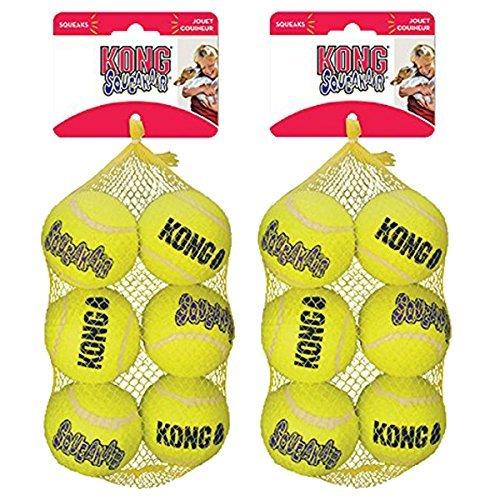 - KONG Squeak Air Balls Dog Toy (12 Pack), Medium