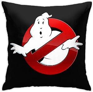KATHERISEND Geek Ghostbusters Square Throw Pillow Case Print Pillowcase Sofa Home Bedroom Decor 18