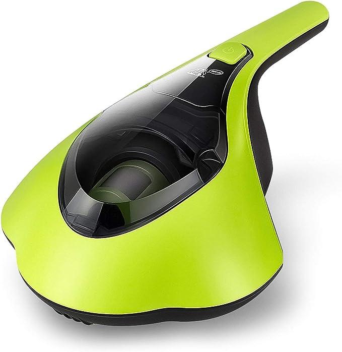 PUPPYOO Esterilizador de Ácaros Mini Limpiador de Ácaros Aspirador Antiácaros del Hogar con UV Luz de Rayos Ultravioleta, Aspiradoras de Mano (Verde): Amazon.es: Hogar