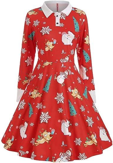 Luckycat Falda Mujer Larga Mujer Vestidos Midi Vestidos Mujer ...