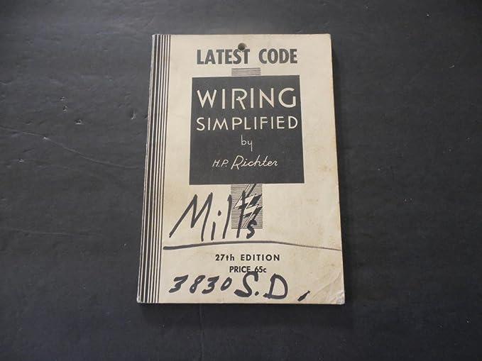 Simplified Wiring Richter - House Wiring Diagram Symbols •
