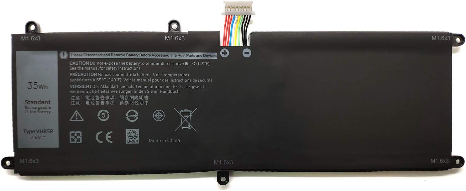 EndlessBattery VHR5P Replacement Battery Compatible with Dell Latitude 11 5175 5179 Series Tablet Notebook XRHWG RHF3V 0XRHWG T440P(35Wh-7.6V)