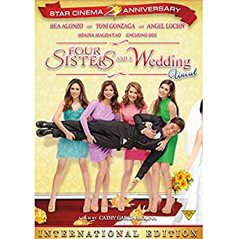 Four Sisters And A Wedding DVD International Edition