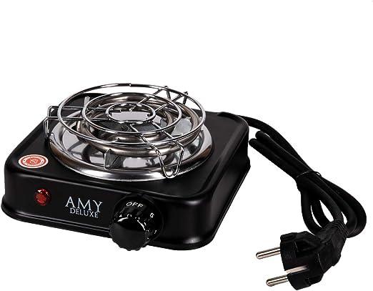 Amy Hot Turbo Hot Plate - Encendedor de carbón eléctrico (500 W)