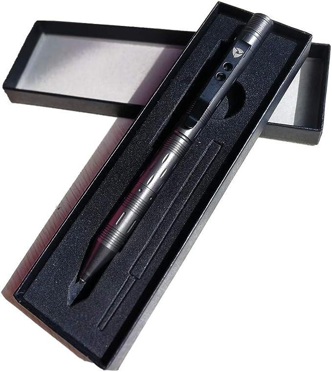 Multi-Function Military Defense Tactical Writing Pen Emergency Flashlight Strobe