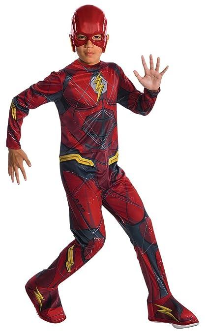 Marvel - Disfraz de Flash superhéroe para niños, infantil 5-7 años (Rubies 630861-M)