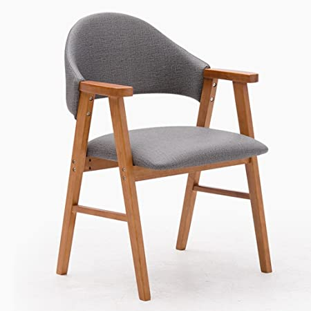 qiangzi modern wooden chairs nordic solid wood dining chair
